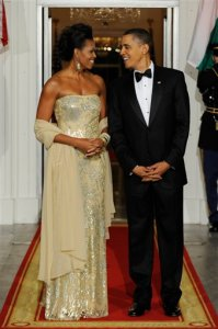 Barack Obama, Manmohan Singh, Michelle Obama, Gursharan Kaur